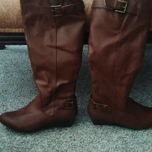 Rampage Brown Boots 6 1/2